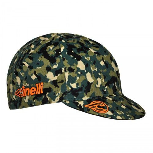 Cinelli Cycling Cap: Cork Camo