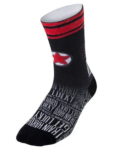 Cycology Train Hard Get Lucky Cycling Socks